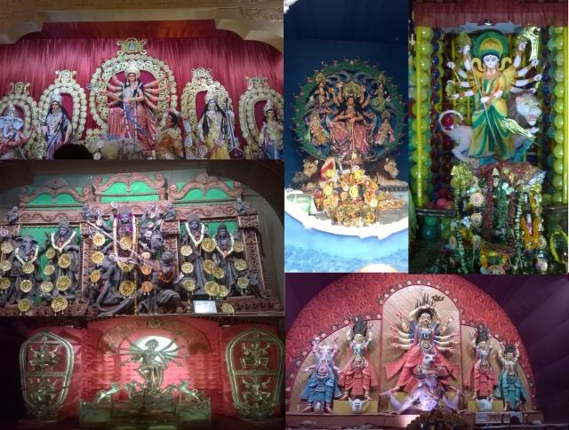 Colurful deities