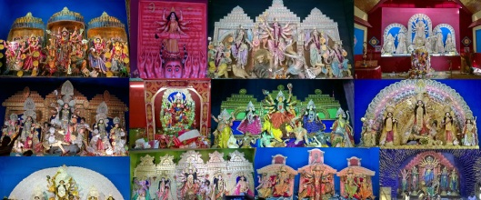 Different Incarnations of Goddess Durga