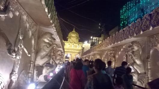Durga Puja Crowd
