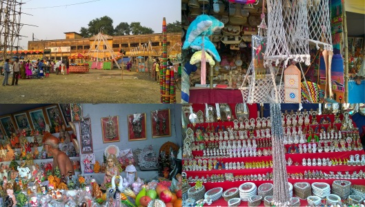 Colourful Puja Fairs