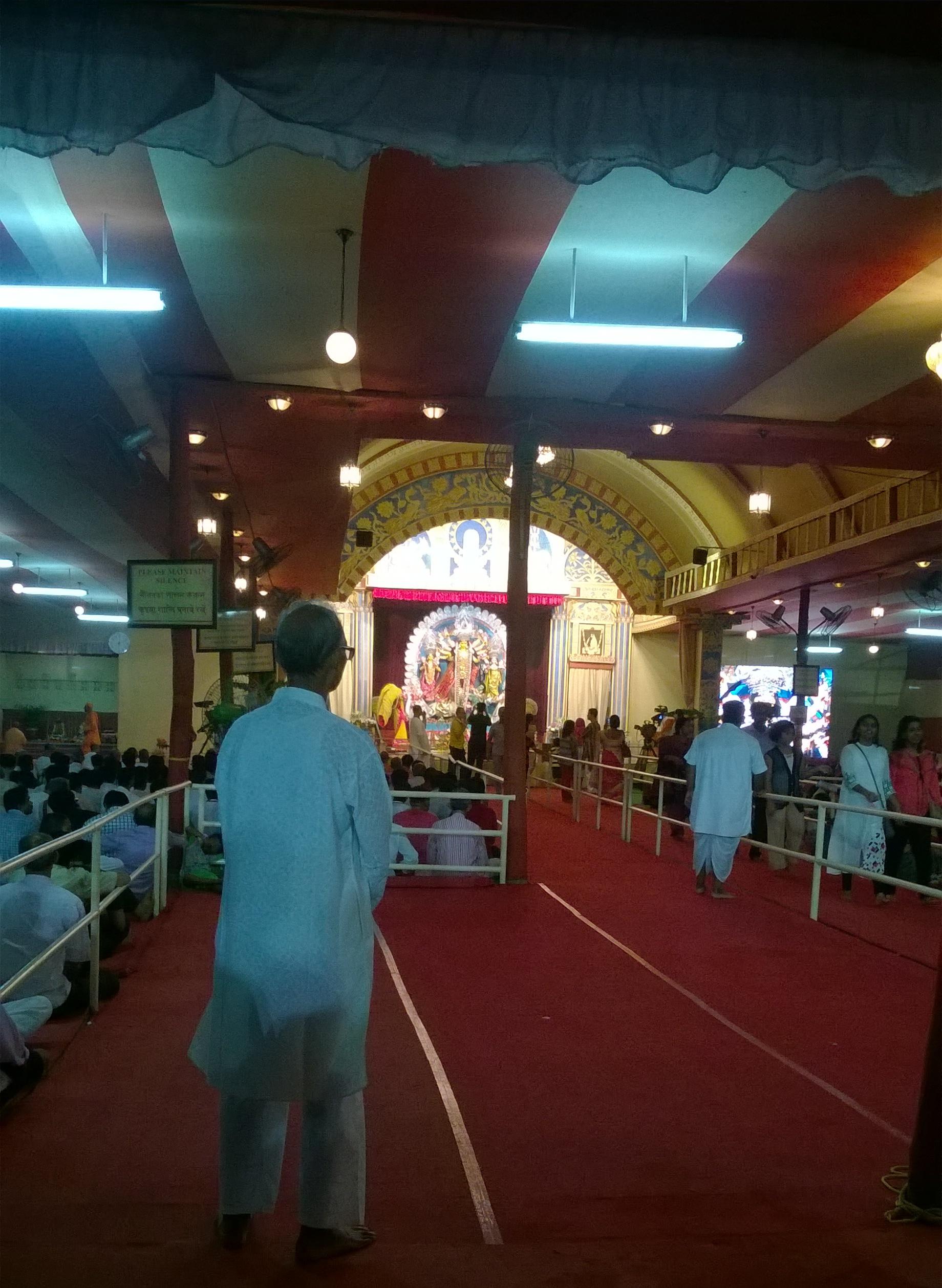 Durga Puja at Belur Math